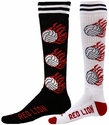 Flaming Volleyball Knee High Socks - 2 Color Options