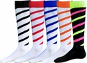 Candy Stripe Cyclone Knee High Socks - 25 Color Options
