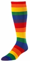 Colorful Rainbow Stripes Over-Calf KraziSox