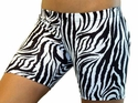 "White Tiger Stripe 4"" inseam Spandex Shorts"