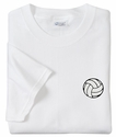 Mini Volleyball Logo Discount Shirt - in 3 Shirt Colors