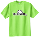 Youth Sized VOLLEYBALL Short Sleeve Tees