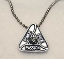 Volleyball Power Pride Passion Necklace
