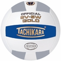 Tachikara Blue-White-Silver SV-5W Gold Volleyball
