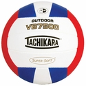 Tachikara Red-White-Blue VB7500 Outdoor Volleyball
