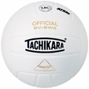 Tachikara White SV-5WS Volleyball