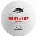 Tachikara White SV-MN Volley-Lite Volleyball