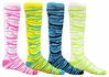 Zebra / Tiger Stripe Knee High Socks - 14 Color Options