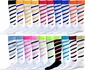 Candy Stripe Cyclone Knee High Socks - Lots of Color Options