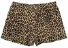 Brown Leopard / Cheetah Spandex Shorts