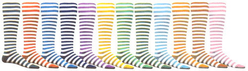 Bumble Bee Knee High Socks - 12 Color Options