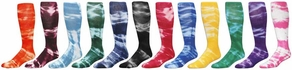 Revolution Tie-Dye Tube Socks - 12 Color Options