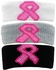 Pink Ribbon Breast Cancer Arm Bands - 3 Color Options