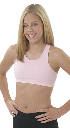 Cotton / Spandex Athletic Sports Bras - in 14 Colors