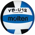 Molten Aqua-White-Black VB-U12 Youth Volleyball