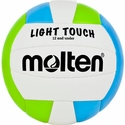 Molten Light Touch Blue & Lime Youth Beach Volleyball