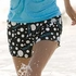 Soffe Volleyball Print Black Shorts