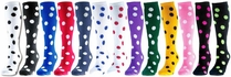 Dots Knee High Socks - Lots of Color Options