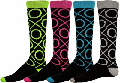 XO Knee High Socks - 4 Color Options
