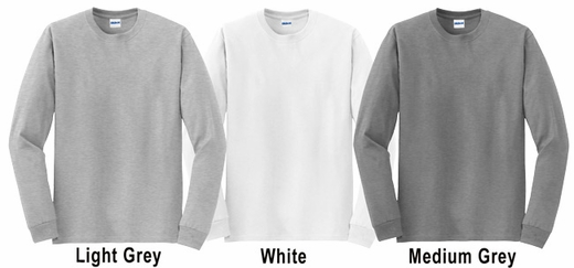 Volleyball in Motion Design Discount Long Sleeve Shirt - in 3 Shirt Colors