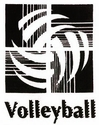 Volleyball Abstract Design Discount T-Shirt - in 3 Shirt Colors
