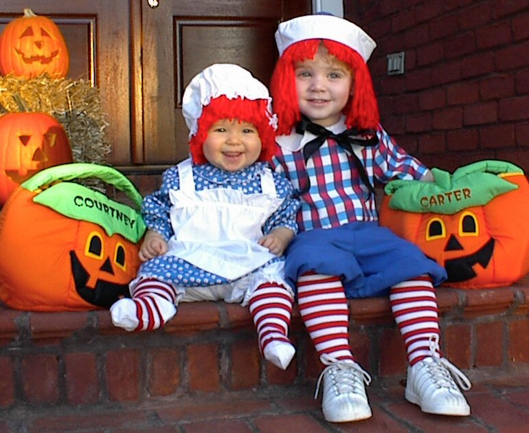 Raggedy Ann Andy Halloween Costumes