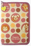 Raggedy Ann & Andy Pink Organizer from Japan