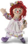 Spring / Easter Raggedy Ann 2002 by Applause