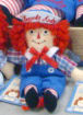 "Raggedy Andy 8"" Doll by Aurora  - Embroidered Eyes"