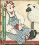 Primitive Raggedy Doll Folk Art at Heart Notepad