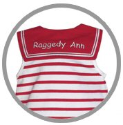 Raggedy Ann Sailor Capri Set Child Outfit