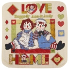 Raggedy Ann & Andy Home Dish Towel