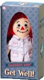 Raggedy Ann Musical Get Well Doll (Nurse) by Applause **see below regarding music feature**
