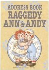 Raggedy Ann & Andy Address Book from Japan
