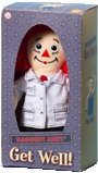 Raggedy Andy Musical Get Well Doll (Doctor) by Applause  - **(NO MUSIC) see below** (also see below for $5 doll!)