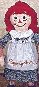 """Dance with Me"" Raggedy Ann Doll 48"" by Applause with Embroidered Eyes"