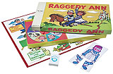 Raggedy Ann & Andy Board Game - Brand New Reproduction of Vintage 1954 Game
