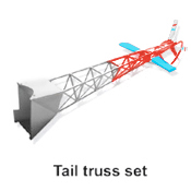 50H05-12 Tail Truss Set