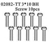 BT 3*10 BH Screw*10PCS