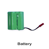 50H01-25 8.4V 650mAh Ni-MH Battery