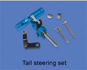 Tail steering set