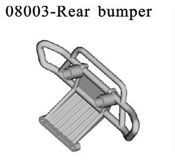 Rear bumper block*2PC