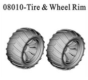 Tire & wheel riim*2