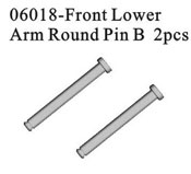 Front lower arm round pin B*2