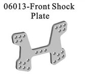 Front shock plate