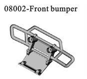 Front bumper block*1PC