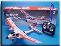 Mini Remote Radio-Controlled R/C Airplane