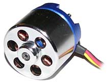 400F Outrunner Brushless Motor 2250 RPM