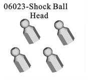 Shock ball head*4pcs