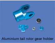 Aluminium tail rotor gear holder
